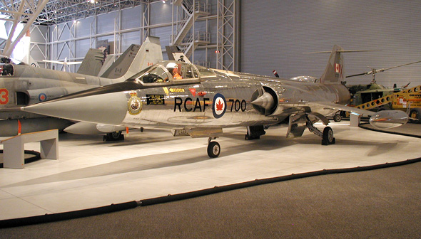 Lockheed F 104a Starfighter Canada Aviation And Space Museum