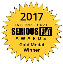 Gold Medal Winner of the 2017 International Serious Play Awards