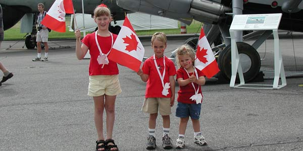 Canada Day Celebrations - Press tab then enter to visit page