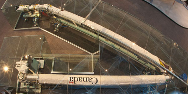 The Legacy of the Canadarm - Press tab then enter to visit page